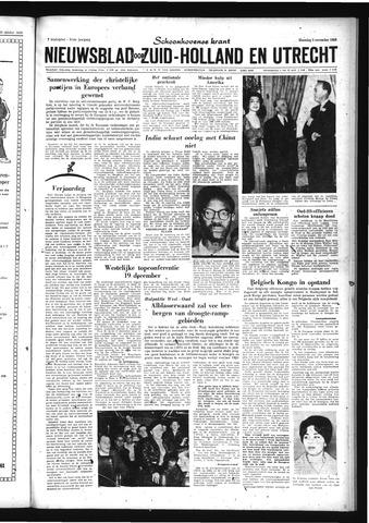 Schoonhovensche Courant 1959-11-02