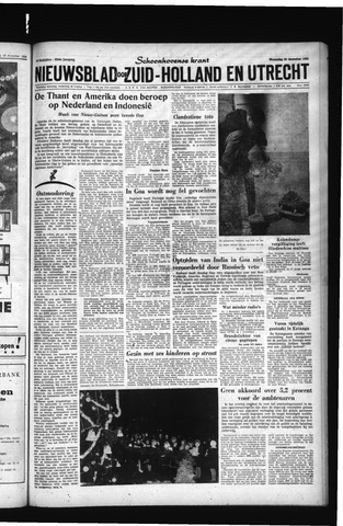 Schoonhovensche Courant 1961-12-20