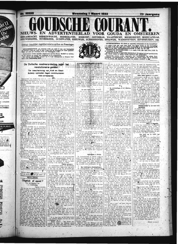 Goudsche Courant 1933-03-01