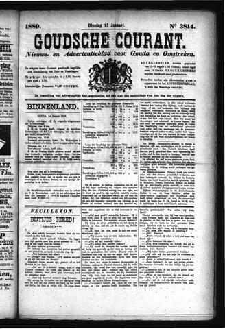 Goudsche Courant 1889-01-15