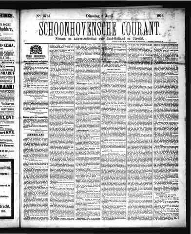 Schoonhovensche Courant 1916-06-06