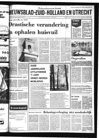 Schoonhovensche Courant 1978-12-29