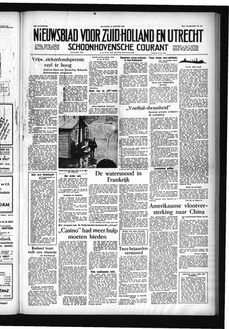 Schoonhovensche Courant 1955-01-24