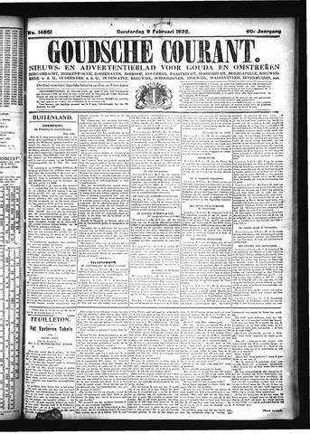 Goudsche Courant 1922-02-09