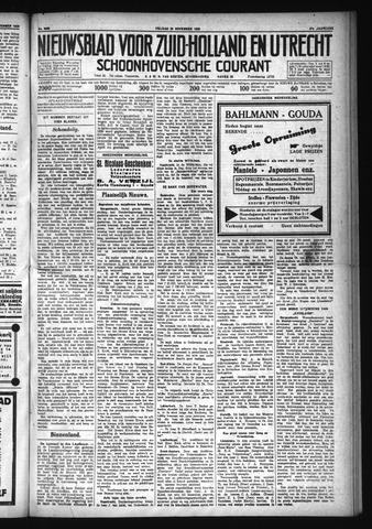 Schoonhovensche Courant 1929-11-29