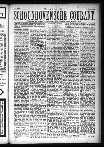 Schoonhovensche Courant 1922-03-27