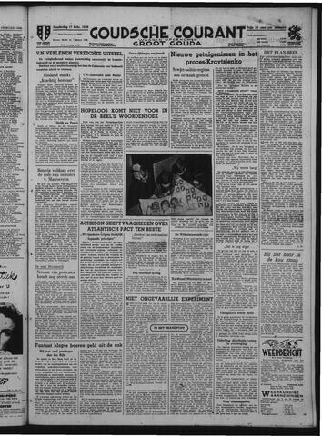 Goudsche Courant 1949-02-17