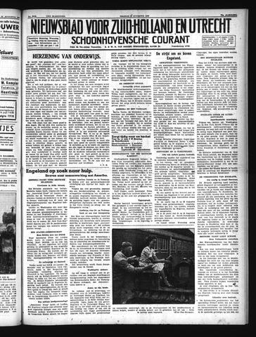Schoonhovensche Courant 1940-08-23