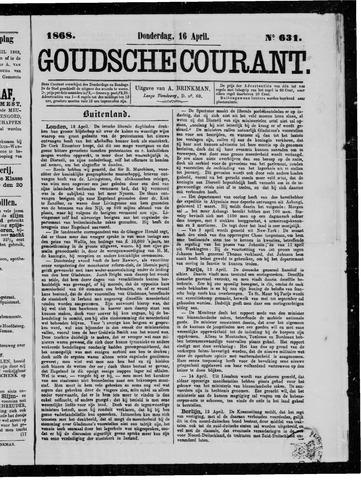 Goudsche Courant 1868-04-16