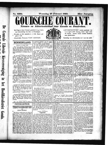 Goudsche Courant 1895-02-27