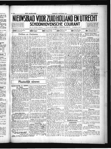 Schoonhovensche Courant 1934-09-12