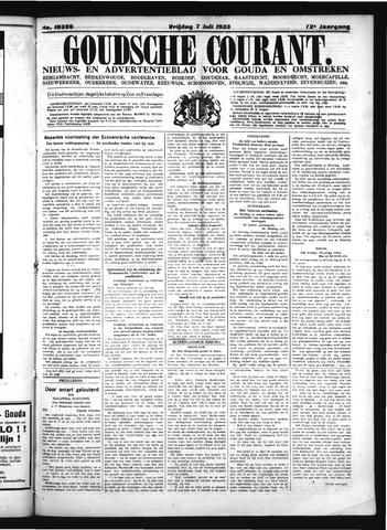Goudsche Courant 1933-07-07