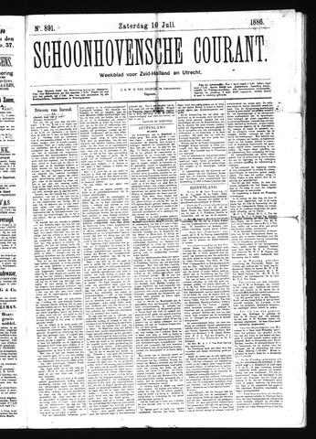 Schoonhovensche Courant 1886-07-10