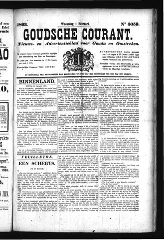 Goudsche Courant 1893-02-01