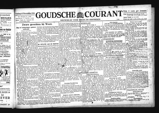 Goudsche Courant 1944-11-17