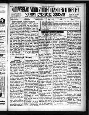 Schoonhovensche Courant 1935-09-16