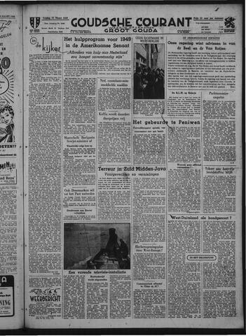 Goudsche Courant 1949-03-25