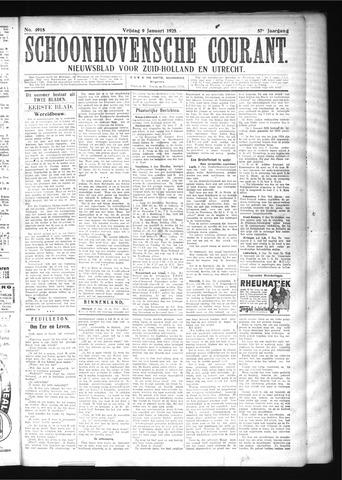 Schoonhovensche Courant 1925-01-09