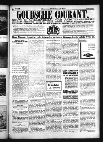 Goudsche Courant 1937-02-20