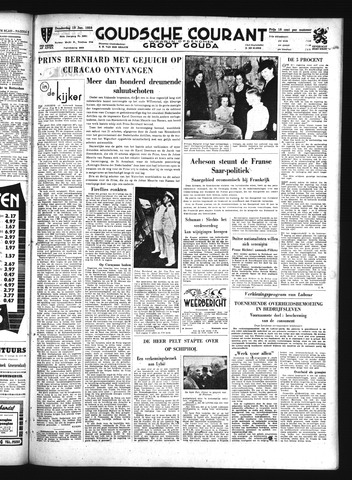 Goudsche Courant 1950-01-19