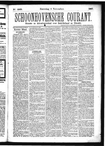 Schoonhovensche Courant 1907-11-02
