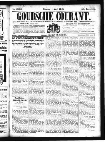Goudsche Courant 1919-04-01