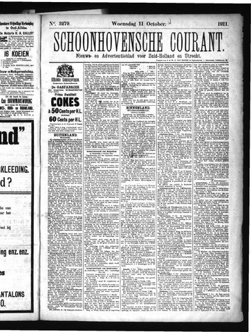 Schoonhovensche Courant 1911-10-11