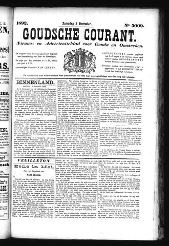 Goudsche Courant 1892-12-03