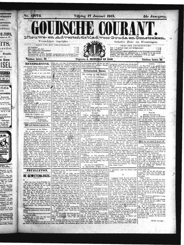 Goudsche Courant 1913-01-17