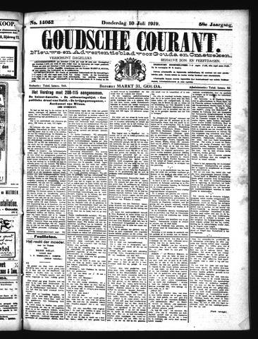 Goudsche Courant 1919-07-10