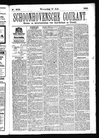 Schoonhovensche Courant 1906-07-11