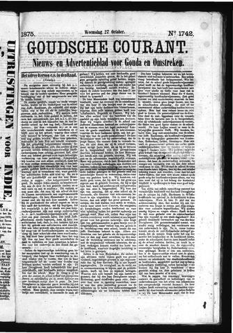Goudsche Courant 1875-10-27
