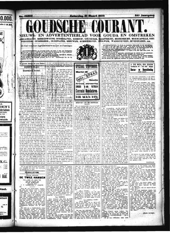 Goudsche Courant 1925-03-21