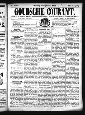 Goudsche Courant 1912-09-24