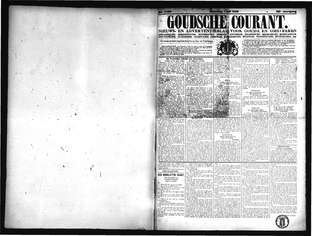 Goudsche Courant 1929-07-01