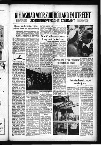 Schoonhovensche Courant 1955-07-08