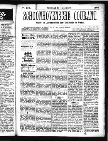 Schoonhovensche Courant 1908-12-19
