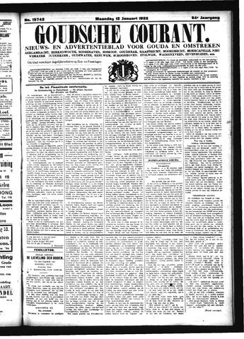 Goudsche Courant 1925-01-12