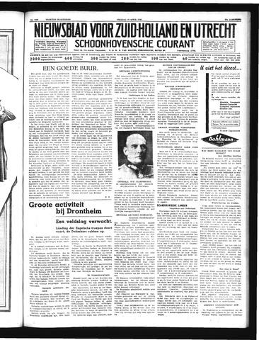 Schoonhovensche Courant 1940-04-19