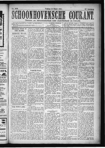 Schoonhovensche Courant 1923-03-23