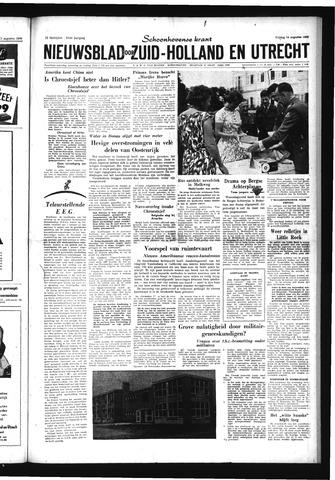 Schoonhovensche Courant 1959-08-14
