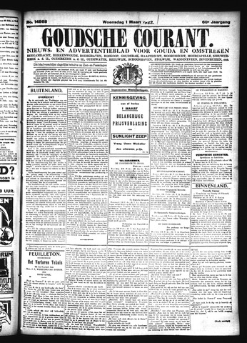 Goudsche Courant 1922-03-01