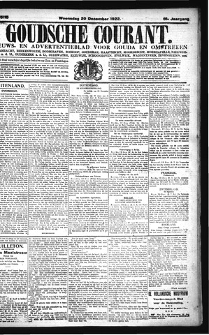 Goudsche Courant 1922-12-20