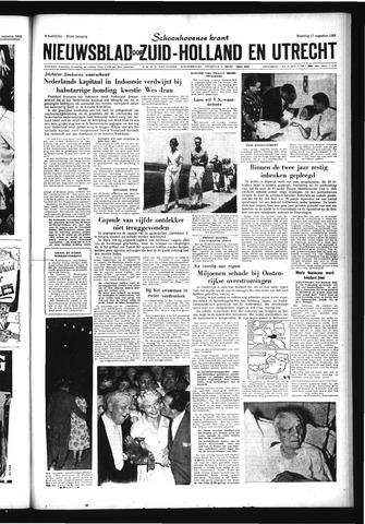 Schoonhovensche Courant 1959-08-17