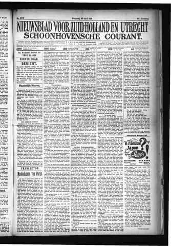 Schoonhovensche Courant 1929-04-24