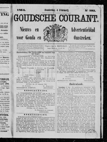 Goudsche Courant 1864-02-04