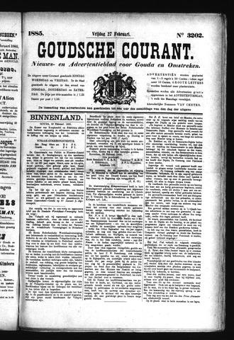 Goudsche Courant 1885-02-27