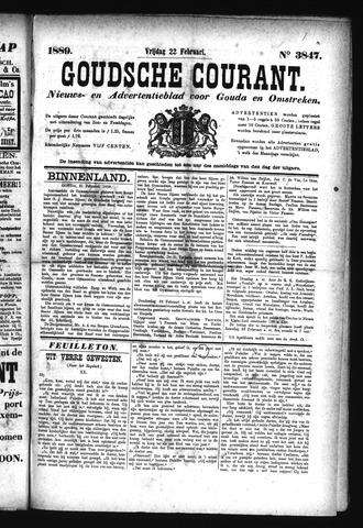 Goudsche Courant 1889-02-22