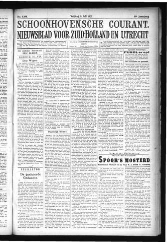 Schoonhovensche Courant 1927-07-08