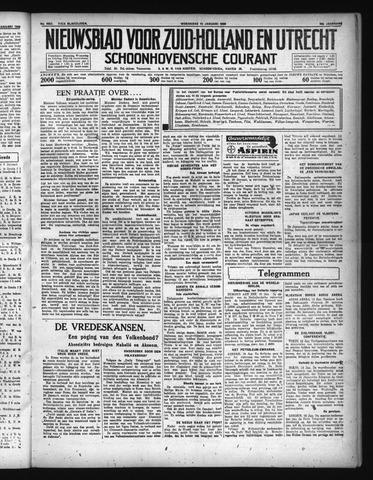 Schoonhovensche Courant 1936-01-15